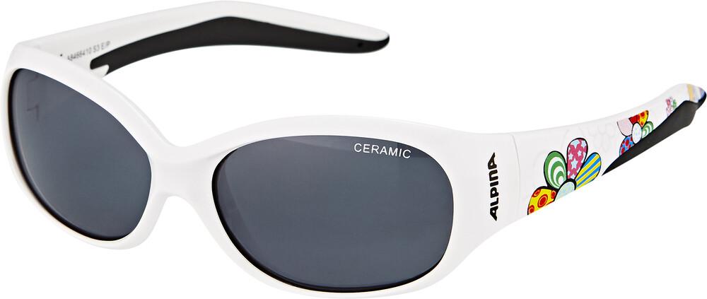 Alpina Flexxy Kids Sportbrille white flower black CXb5J